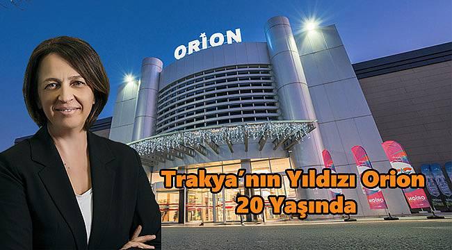 Trakya'nın yıldızı Orion 20 yaşında