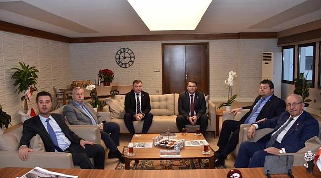 Başkan Albayrak'tan Çorlu Belediye Başkanı Ahmet Sarıkurt'a Ziyaret