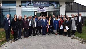 Başkan Kadir Albayrak Çorlu'da Mahalle Muhtarları İle Buluştu