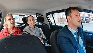 Başkan Sarıkurt Taksi Şoförü Oldu