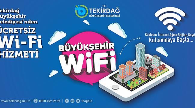 Büyükşehir Belediyesi'nin Wifi Hizmeti Artık Daha Hızlı