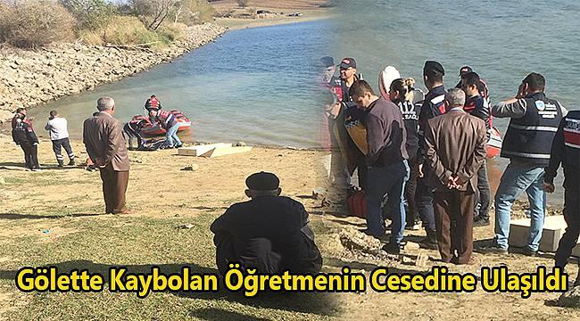 Gölette Kaybolan Öğretmenin Cesedine Ulaşıldı