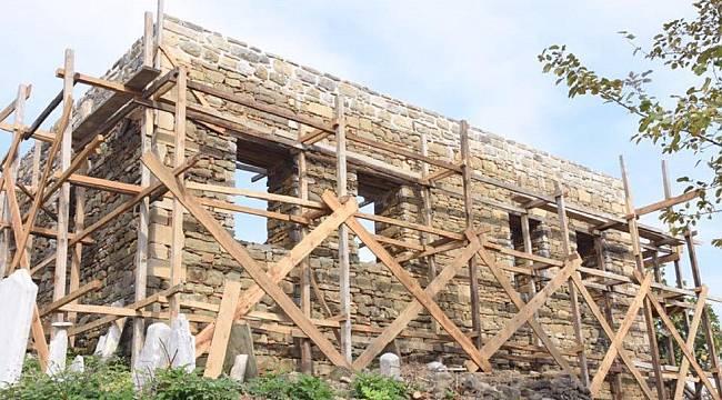 Tekirdağ'da Tarihi Doku Ortaya Çıkıyor