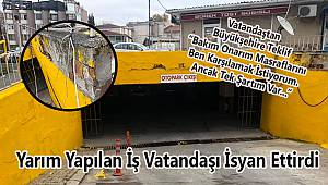 Vatandaştan Büyükşehir'e 'Ben Yapayım' Teklifi