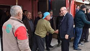 Başkan Kadir Albayrak Hayrabolu'da Vatandaşlarla Buluştu
