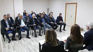 Başkan Yüksel Muhtarlar İle Değerlendirme Toplantısı Yaptı