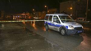 Büyükçekmece'de silahlı saldırı: 1 bekçi yaralandı