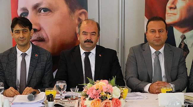"""Çetin, """"Daha Güçlü Bir AK Parti İçin Çalışıyoruz"""""""
