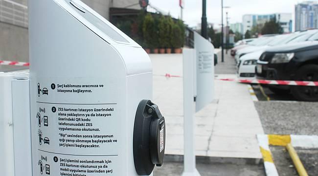 Elektrikli Otomobiller Orion'da Şarj Olacak