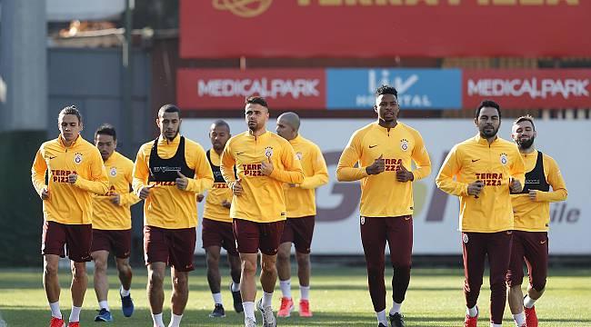 Galatasaray Göztepe Maçına Hazır