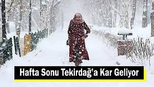 Hafta Sonu Kar Yağışı Geliyor