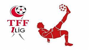 TFF 1. Lig'de Haftanın Perdesi Tek Maçla Açılıyor