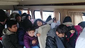 Afganistan Uyruklu 108 Göçmen Yakalandı