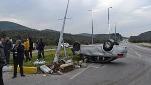 Balıkesir'de Otomobiller Çarpıştı, 5 Yaralı