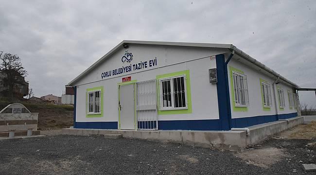 Çorlu Belediyesi Taziye Evi ile Vatandaşların Zor Günlerinde Yanında