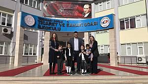 Cumhurbaşkanı Erdoğan'ın Kabul Ettiği Engelli Öğrencilerin Sevinci