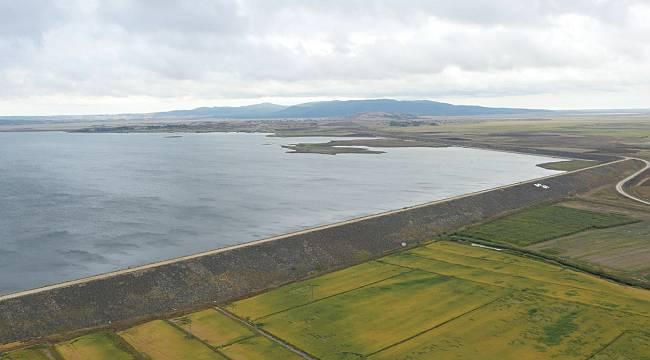 Hamzadere Barajı 335 bin 640 Dekar Araziyi Sulu Tarıma Kavuşturacak