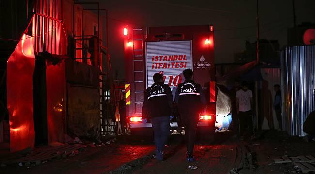 İşçi Konteynerinde Çıkan Yangında 1 Kişi Öldü