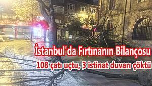 İstanbul'da Fırtınanın Bilançosu
