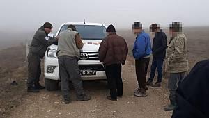 Kaçak Avlanan 6 Kişi Yakalandı