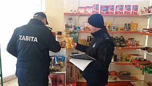 Kırklareli'de Zabıta Marketleri Denetlendi