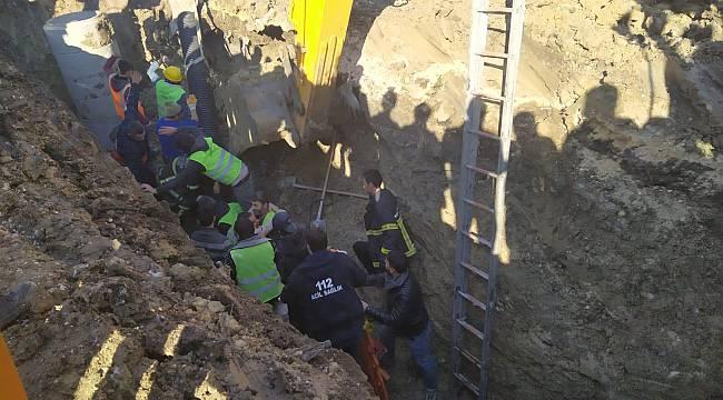 Lüleburgaz'da Göçük Altında Kalan 2 İşçi Kurtarıldı