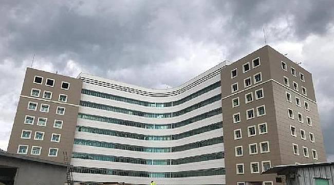 Lüleburgaz Devlet Hastanesinin İnşaat Çalışmalarında Sona Yaklaşıldı
