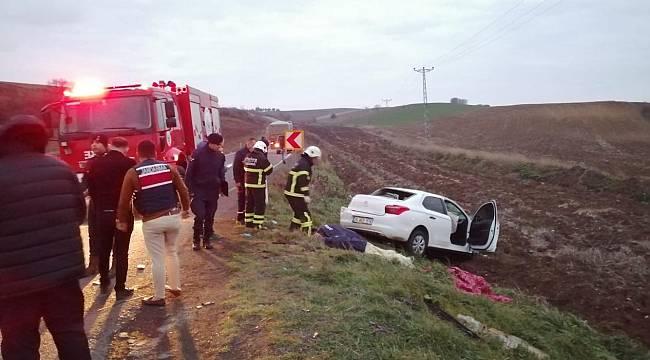 Otomobil ile TIR Çarpıştı, 5 Yaralı
