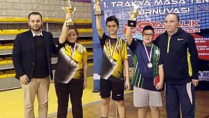 Özel Sporcumuz Mert Ballı Trakya Şampiyonu Oldu