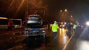 Sarıyer'de Zincirleme Trafik Kazası, 4 Yaralı