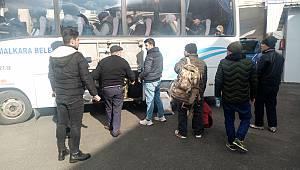 Tekirdağ'da 32 Düzensiz Göçmen Yakalandı