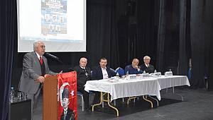 Vatan Partisi Genel Başkanı Doğu Perinçek Çorlu'da