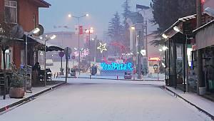 Yenipazar İlçesinde Kar Yağışı Etkili Oluyor