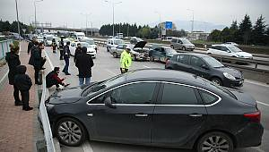 Zincirleme Trafik Kazası, 3 Yaralı