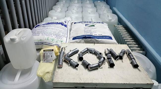 2 Bin 105 Litre Etil Alkol Ele Geçirildi