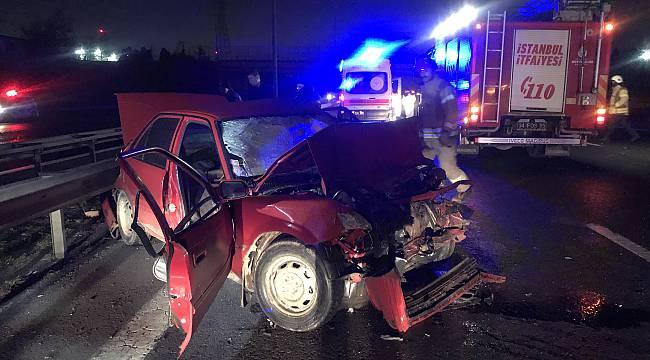 Hurdaya Dönen Otomobilde 2 Kişi Öldü
