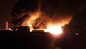 PKK'nın Yaktığı Katı Atık Bertaraf Tesisinde Yine Yangın