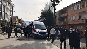 Sakarya'da Yanan Evde Mahsur Kalan Çocuk Öldü