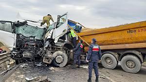 Şile'de feci Kaza 2 Yaralı
