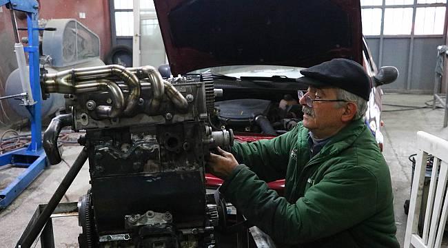 Tekirdağlı Tamircinin Yakıt Tasarrufu İçin Tasarladığı Motoru Yetkililer İnceledi