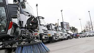 Temizlik Filosu Çevreci Araçlarla Yenilendi
