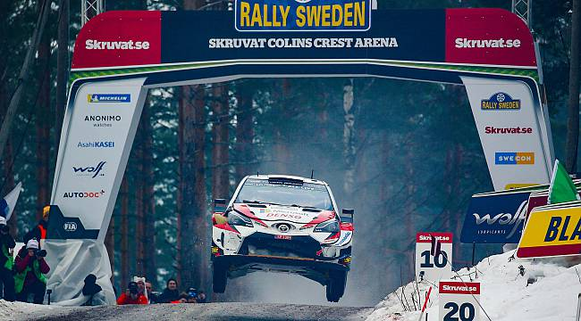 Toyota GAZOO Racing, İsveç Rallisi'nde İddialı