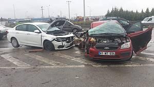 Zincirleme Kaza, 4 Yaralı
