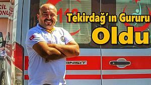 Altın Ambulans Yarışmasında Tekirdağ'ın Gururu Oldu
