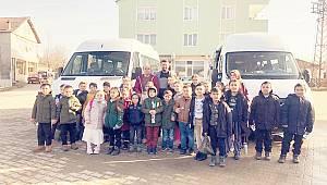 Demirköy'de köy çocukları kültür gezisine katıldı