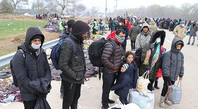 Edirne'den Gelen 487 Mülteci Kırklareli'nde Karantinaya Alındı