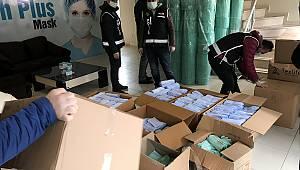 Kaçak Üretilen 100 Bin Maskeye El Konuldu