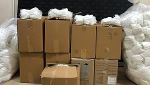 Kaçak Üretilen 19 Bin Tıbbi Maske Ele Geçirildi