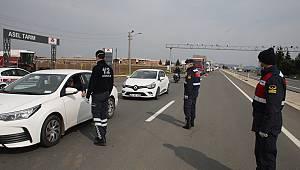 Keşan'a Giriş-Çıkışlarda Korona Taraması Yapıldı
