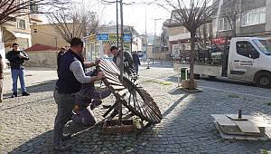 Kırklareli'nde De Banklar Kaldırıldı
